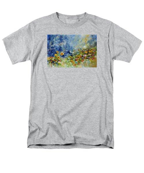 Flowers In The Fog Men's T-Shirt  (Regular Fit) by Craig T Burgwardt