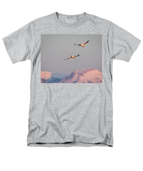 Men's T-Shirt  (Regular Fit) featuring the photograph Flying High by Jack Bell