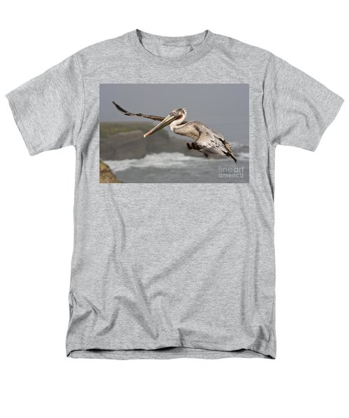 Flying Over La Jolla Men's T-Shirt  (Regular Fit) by Bryan Keil