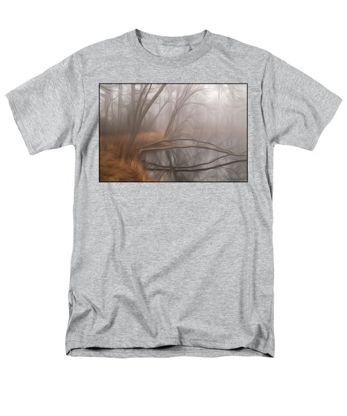 Foggy Fall Morning Men's T-Shirt  (Regular Fit)