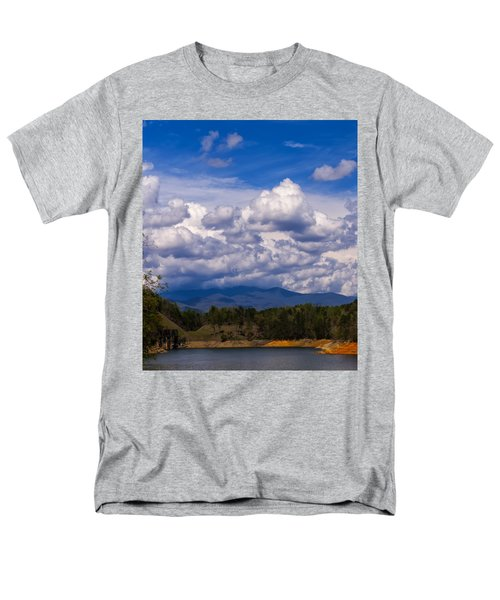 Fontana Lake Storm 2 Men's T-Shirt  (Regular Fit) by Chris Flees