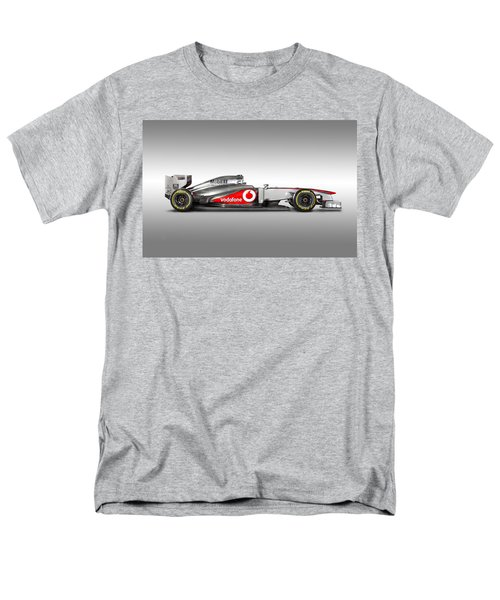 Formula 1 Mclaren Mp4-28 2013 Men's T-Shirt  (Regular Fit) by Gianfranco Weiss