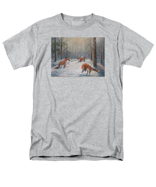 Forest Games Men's T-Shirt  (Regular Fit) by Donna Tucker