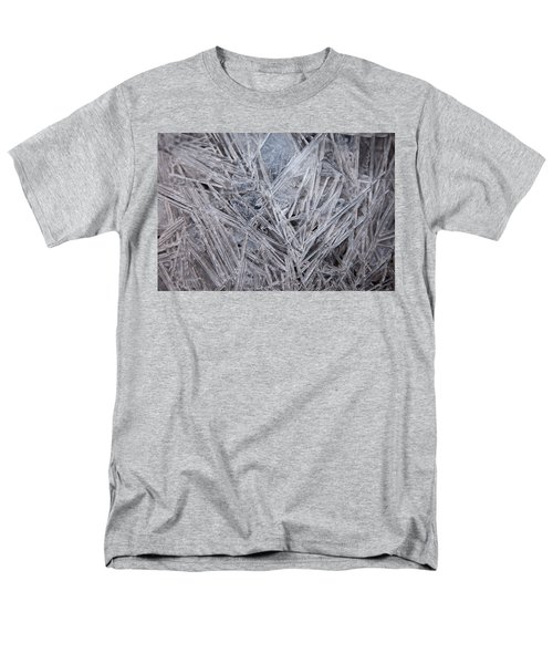 Frozen Fractal Men's T-Shirt  (Regular Fit) by Leeon Pezok