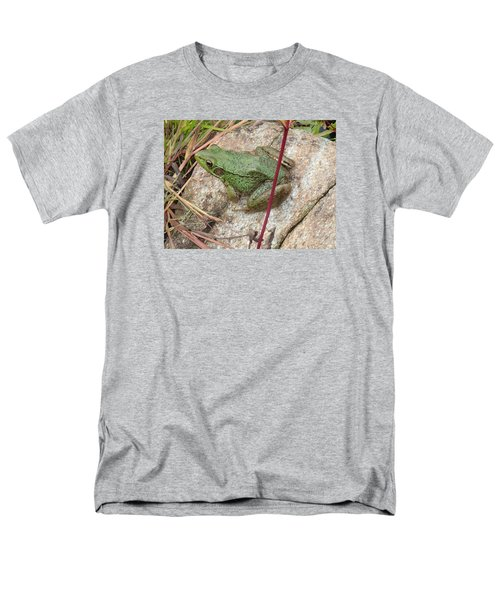 Men's T-Shirt  (Regular Fit) featuring the photograph Frog by Robert Nickologianis