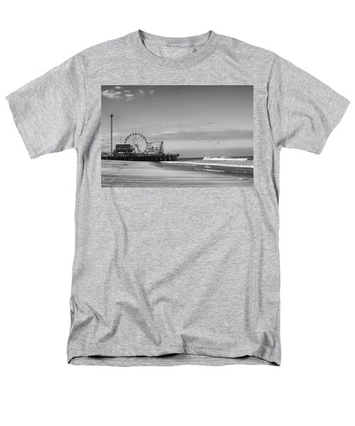 Funtown Pier Seaside Heights New Jersey  Men's T-Shirt  (Regular Fit) by Terry DeLuco
