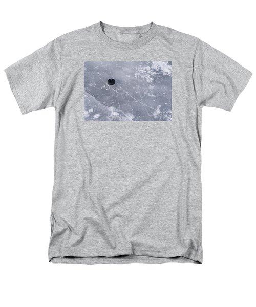 Get The Puck Outta Here Men's T-Shirt  (Regular Fit) by Steven Ralser