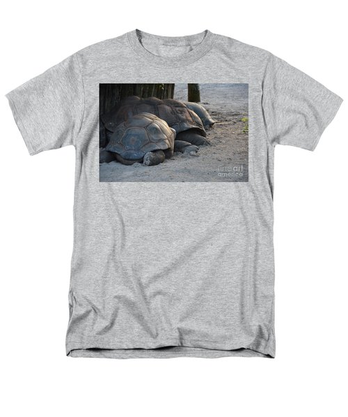 Men's T-Shirt  (Regular Fit) featuring the photograph Giant Tortise by Robert Meanor