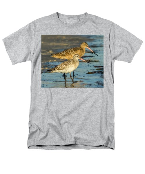 Godwits Men's T-Shirt  (Regular Fit) by Jane Luxton