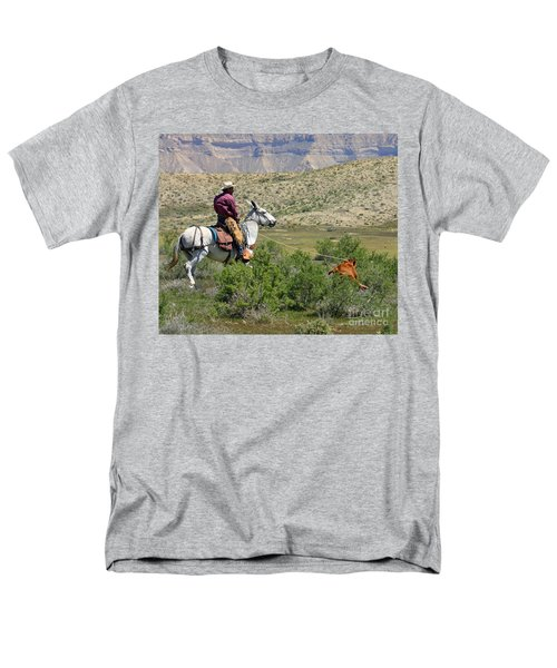 Gotcha' Men's T-Shirt  (Regular Fit) by Bob Hislop