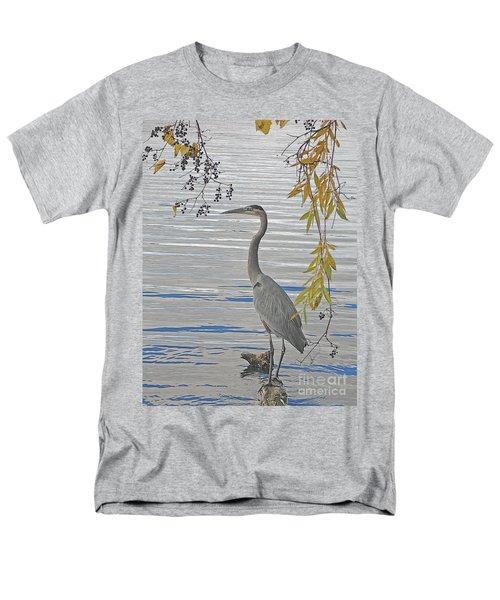 Great Blue Heron Men's T-Shirt  (Regular Fit)