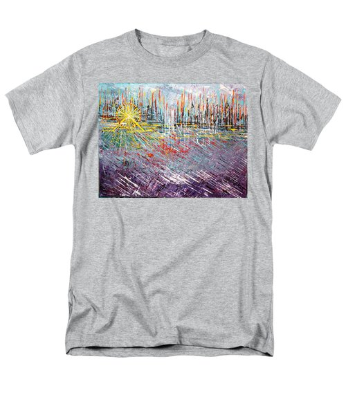 Great Day In Chicago - Sold Men's T-Shirt  (Regular Fit) by George Riney
