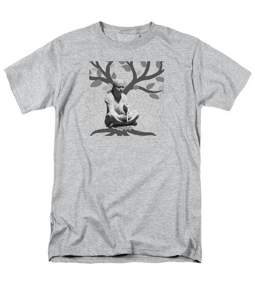 Men's T-Shirt  (Regular Fit) featuring the photograph Guardian Of The Tree Of Life by I'ina Van Lawick