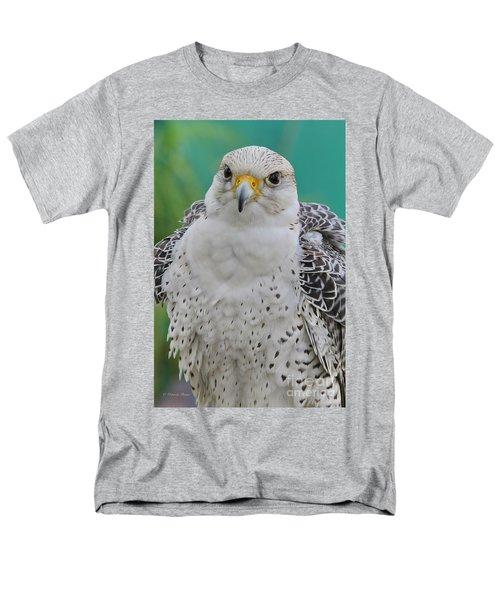 Gyrfalcon Men's T-Shirt  (Regular Fit) by Deborah Benoit