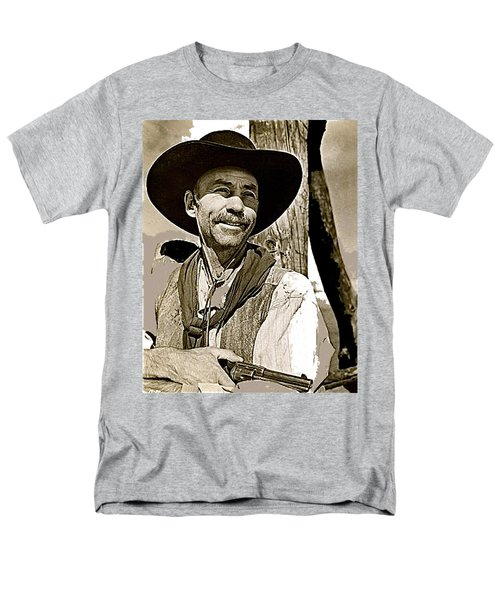 Hank Worden Publicity Photo Red River 1948-2013 Men's T-Shirt  (Regular Fit) by David Lee Guss