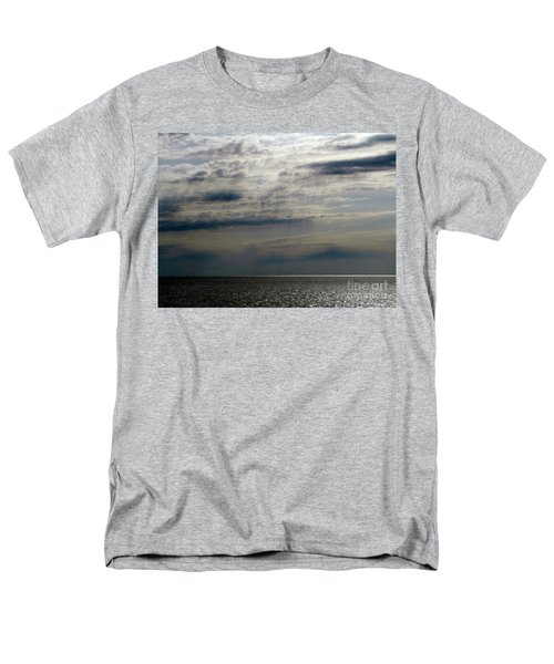Hdr Storm Over The Water  Men's T-Shirt  (Regular Fit) by Joseph Baril