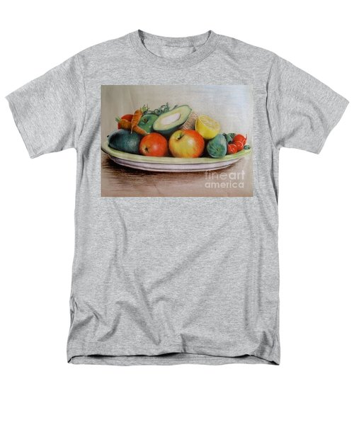 Healthy Plate Men's T-Shirt  (Regular Fit) by Katharina Filus