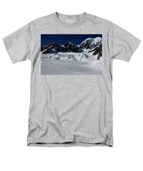 Men's T-Shirt  (Regular Fit) featuring the photograph Helicopter New Zealand  by Amanda Stadther