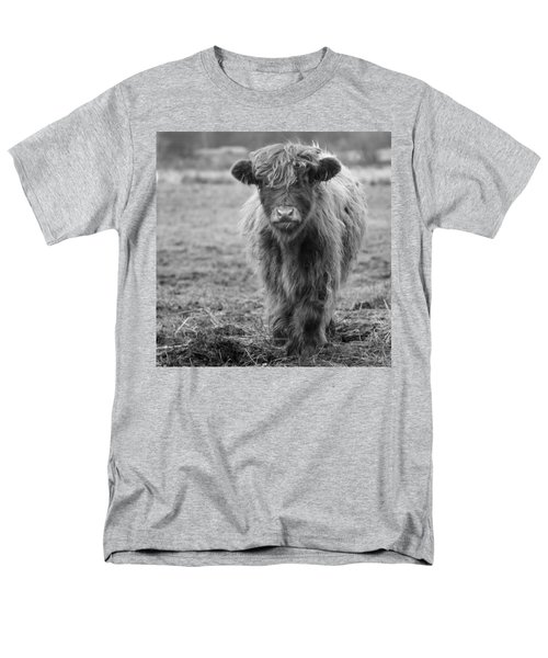 Highland Calf Men's T-Shirt  (Regular Fit) by Sonya Lang