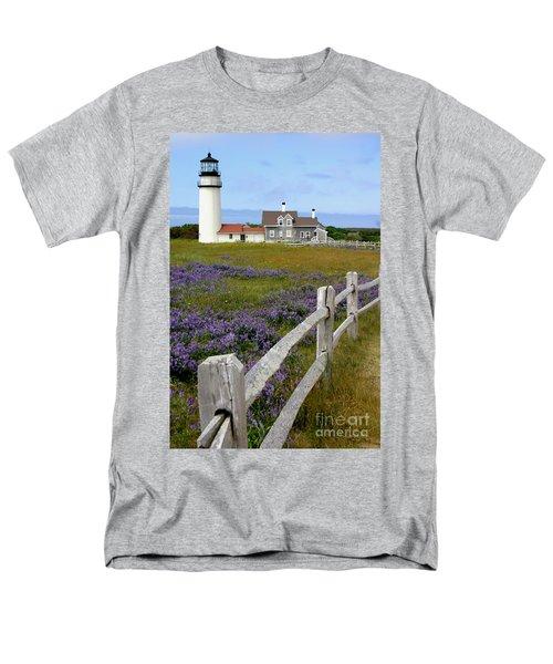 Highland Lighthouse Men's T-Shirt  (Regular Fit) by Paula Guttilla