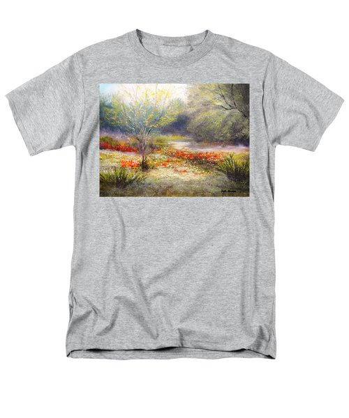Hill Country Wildflowers Men's T-Shirt  (Regular Fit) by Patti Gordon