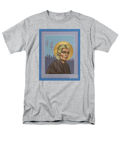 Holy Prophet Dorothy Day 154 Men's T-Shirt  (Regular Fit) by William Hart McNichols