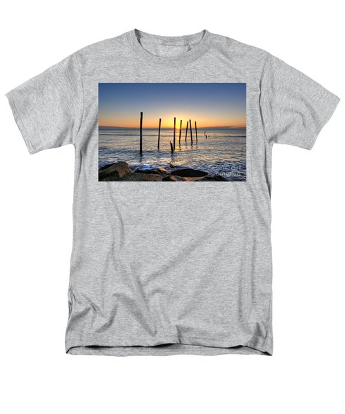 Horizon Sunburst Men's T-Shirt  (Regular Fit) by Michael Ver Sprill