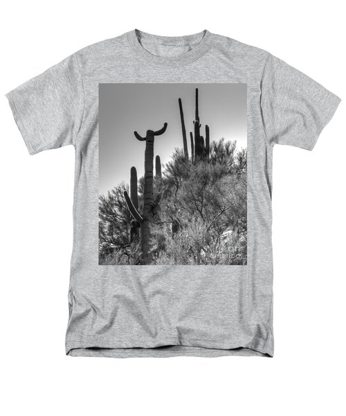 Horn Saguaro Cactus Men's T-Shirt  (Regular Fit)
