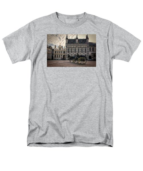 Horse And Carriage Men's T-Shirt  (Regular Fit) by Joan Carroll