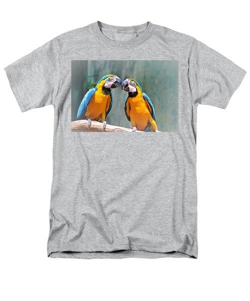 How About A Little Kiss Men's T-Shirt  (Regular Fit) by Tara Potts