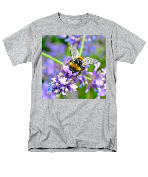 Hungry Bee Men's T-Shirt  (Regular Fit) by Tine Nordbred
