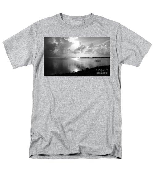 Hurry Sundown Men's T-Shirt  (Regular Fit) by Amar Sheow