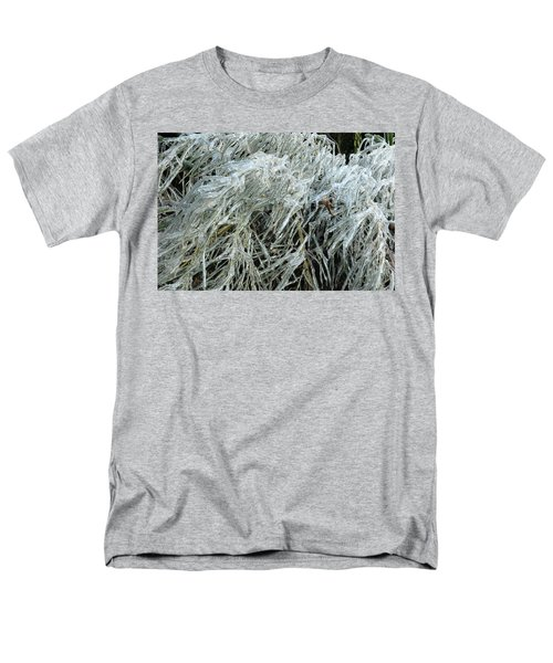 Ice On Bamboo Leaves Men's T-Shirt  (Regular Fit) by Daniel Reed