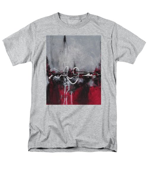 Men's T-Shirt  (Regular Fit) featuring the painting Into The Fire by Nicole Nadeau