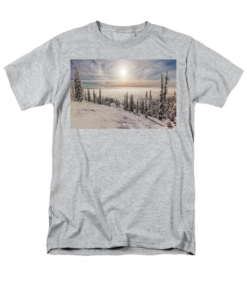 Inversion Sunset Men's T-Shirt  (Regular Fit)