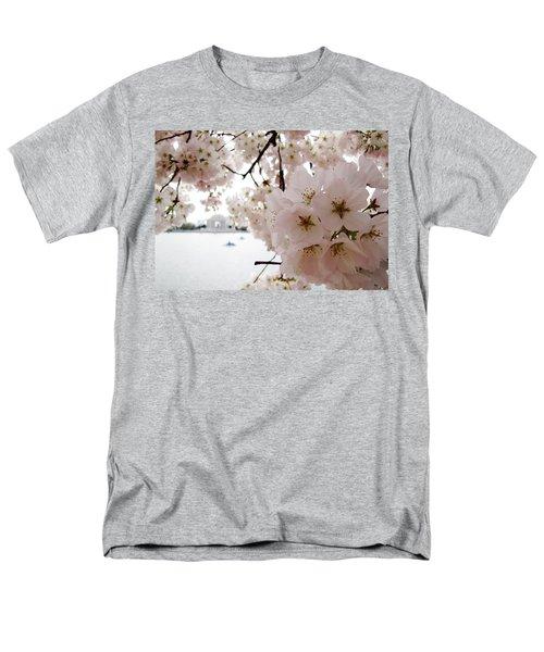Men's T-Shirt  (Regular Fit) featuring the photograph Jefferson Memorial by Jennifer Wheatley Wolf