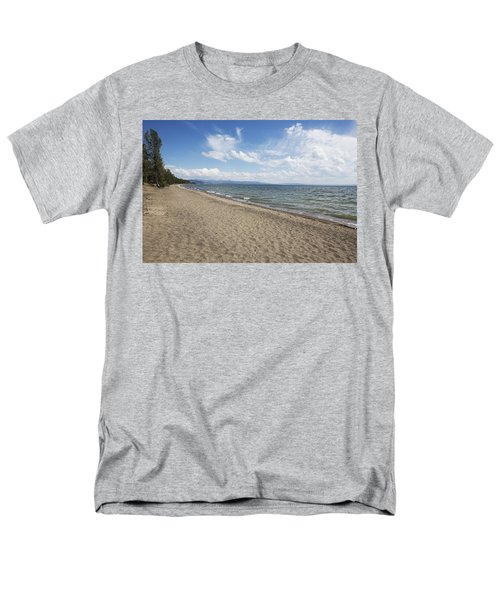 Men's T-Shirt  (Regular Fit) featuring the photograph Yellowstone Lake by Belinda Greb