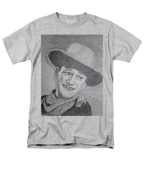 John Wayne Men's T-Shirt  (Regular Fit) by Kathy Marrs Chandler