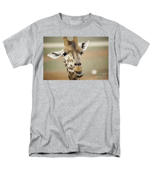 Jolly Giraffe Men's T-Shirt  (Regular Fit) by Ray Warren