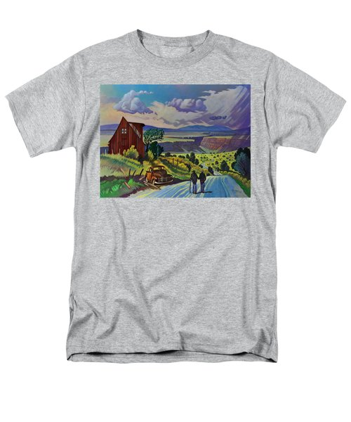 Journey Along The Road To Infinity Men's T-Shirt  (Regular Fit)