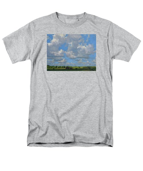 July In The Valley Men's T-Shirt  (Regular Fit) by Bruce Morrison