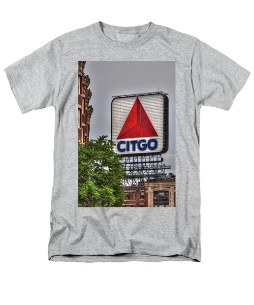 Kenmore Square And The Citgo Sign Men's T-Shirt  (Regular Fit) by Joann Vitali