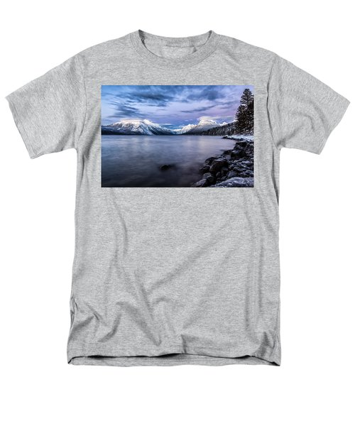 Men's T-Shirt  (Regular Fit) featuring the photograph Last Light by Aaron Aldrich