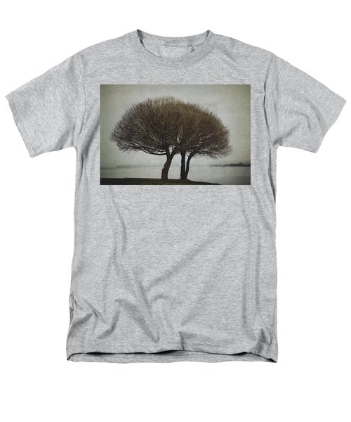 Men's T-Shirt  (Regular Fit) featuring the photograph Leafless Couple by Ari Salmela
