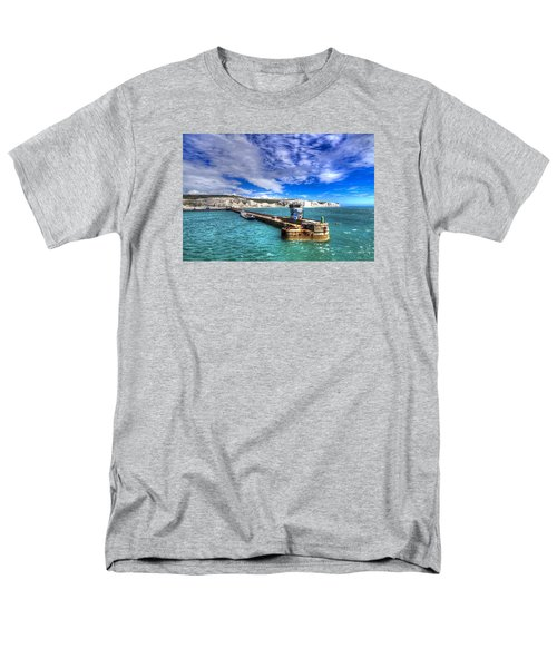 Leaving The Port Of Dover Men's T-Shirt  (Regular Fit) by Tim Stanley