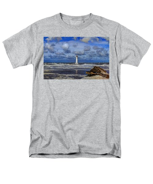 Lighthouse Men's T-Shirt  (Regular Fit) by Spikey Mouse Photography