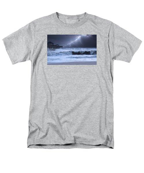 Lightning Strike Men's T-Shirt  (Regular Fit) by Laura Fasulo