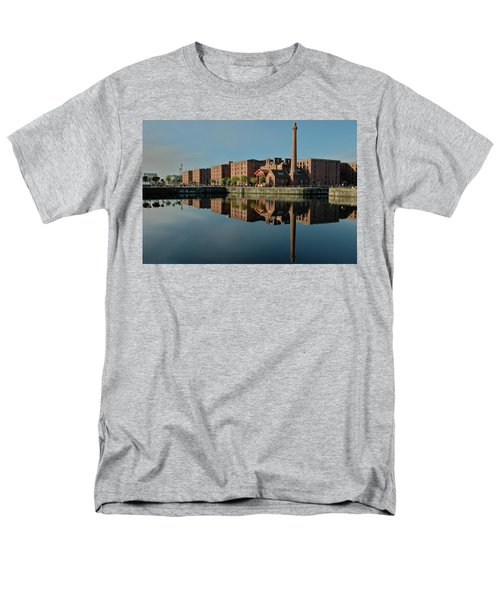 Men's T-Shirt  (Regular Fit) featuring the photograph Liverpool Canning Docks by Jonah  Anderson