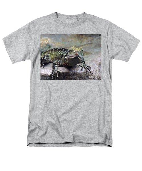Men's T-Shirt  (Regular Fit) featuring the photograph Lizzie's Gaze by Lingfai Leung