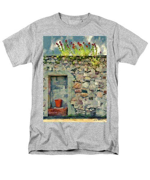 Men's T-Shirt  (Regular Fit) featuring the painting Location With A View by Jeff Kolker